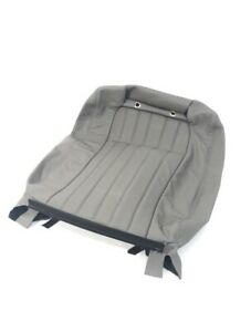 94 96 Impala Ss Leather Seat Back Replacement Cover Gray sold Individually