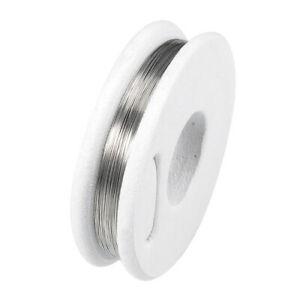 0 2mm 32awg Heating Resistor Wire Nichrome For Heating Elements 33ft