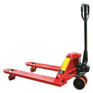 Dayton Pallet Jack manual Operation 6000 Lb 493x18 Red