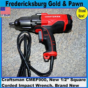 Craftsman Cmef900 New 1 2 Square Corded Impact Wrench Kit 7 5 Amp 2700 Ipm
