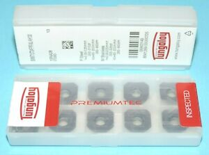 Swmt 13t3afpr mj Ah130 Tungaloy Carbide Inserts 10 Pieces Sealed Pack