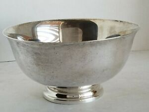Reed Barton Sterling Silver Paul Revere Reproduction Trophy Bowl 16oz 452 8g