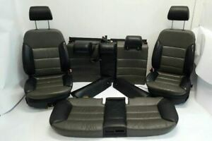 Full Set Of Electric Leather Seats W Air Bags Oem 01 02 03 04 Audi A6 Allroad