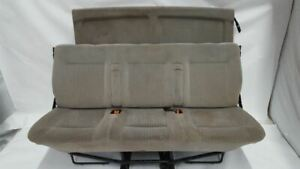 Rear Back Seat And Seat Belts Oem 2002 Volkswagen Eurovan R313994