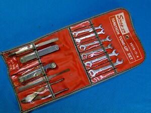 Vintage Snap on Ignition Tune Up Set 2011b Wrench Tools Kit