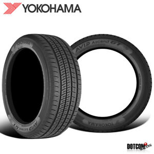 2 X New Yokohama Avid Ascend Gt 195 65r15 91h Tires
