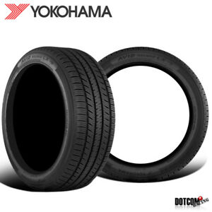 2 X New Yokohama Ascend Lx 195 65r15 91h Tires