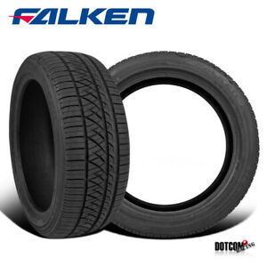 2 X New Falken Ziex Ze960 A s 255 35r20xl Tires