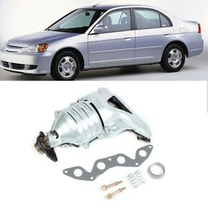 Car Exhaust Manifold Kit W Parts For Honda Civic 4 Cylinder 1 7l 2001 2005