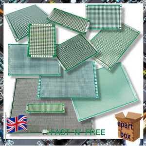 Double Side Universal Pcb Prototype Board 2x8cm 20x30cm 11 Different Sizes