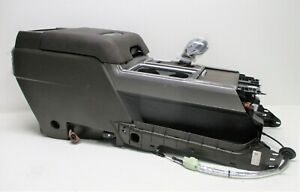 Oem 2017 2019 Ford F 150 Brown Leather Center Floor Console Assembly Shifter