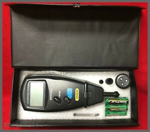 General Pct2236b Contact non contact Tachometer W 96 Reading Memory