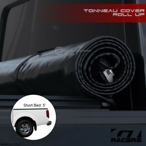 For 2005 2019 Nissan Frontier Crew Cab 5 Ft Bed Lock Roll Soft Tonneau Cover