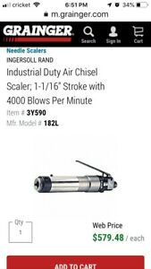 Ingersoll Rand Needle Scaler