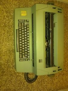 Ibm Selectric Ii Electric Typewriter Green Needs Ink W Letter Gothic C Details
