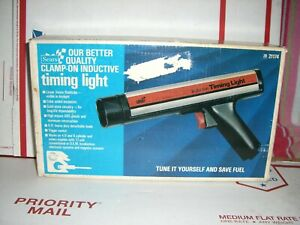 Vintage Sears Clamp On Inductive Timing Light 28 21174 Btand New