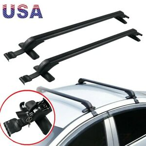 Fits For Honda Civic 2006 2020 Top Roof Cross Bar Luggage Cargo Carrier Rack Kit