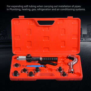Hydraulic Tube Expander 7 Lever Tubing Expanding Tool Swaging Kit Tools Hvac Hot