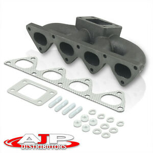 B16 B18 B series Integra Civic Del Sol T3 t4 Cast Iron Turbo Exhaust Manifold