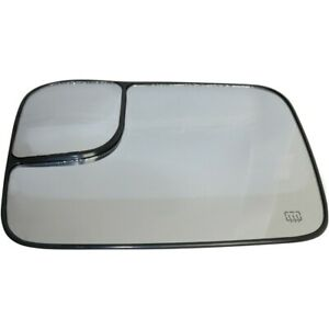 Ch1324121 Mirror Glass Left Hand Side Heated For Ram Truck Driver Lh Dodge 1500