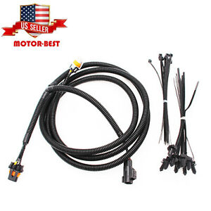 Fog Light Wiring Harness 56045501ac Fits For 2002 2008 Dodge Ram 1500 2500 3500