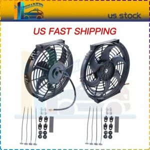 10 Inch Electric Radiator Cooling Fan For 01 18 Chevrolet Aveo Colorado C3500