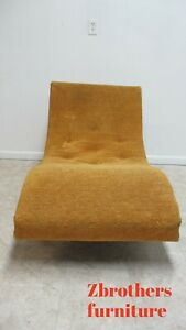 Authentic Adrian Pearsall Craft Associates Wave Sofa Chaise Lounge Vintage