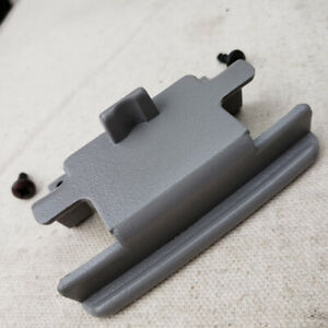 2002 Chevy Monte Carlo Center Console Arm Rest Latch Gray With Screws