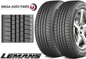 2 Lemans Touring As Ii 225 65r17 102h All Season Traction Performance A s Tires