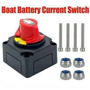 Battery Master 12v Switch Isolator Disconnet Rotary Cut Off Car Rv Marine Boat