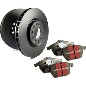 S1kr1425 Ebc Brake Disc And Pad Kits 2 wheel Set Rear New For Ford Mustang 87 93