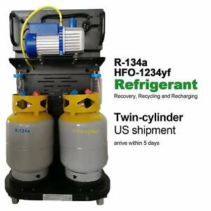 New Robinair Ac Service Machine For Standard Hybrid Car Using 1234yf Refrigerant