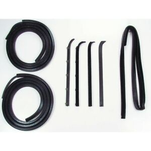 Dk 2110 80 Precision Parts Door Molding And Beltlines Kit Front New For Truck