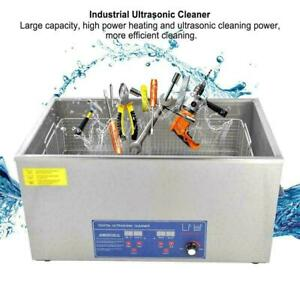 22l Capacity Industry Heated Ultrasonic Cleaner Heater Timer Laboratory Cleaning