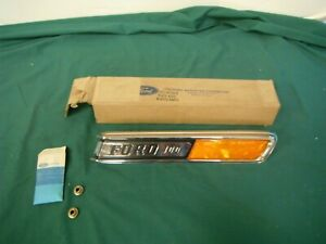 Nos 1968 1969 Ford Pickup F 100 R H Hood Ornament 68 69
