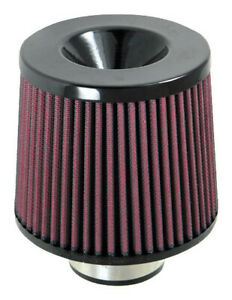 2 5 Vibrant Performance Universal Air Filter Reusable Red Oil 10921