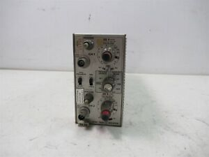 Tektronix 7a26 Dual Trace Amplifier Plug in Module For Chassis Unit