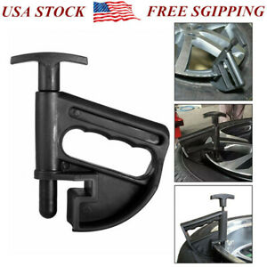 Car Tire Changer Bead Clamp Drop Center Tool Universal Rim Pry Changing Clamp Us