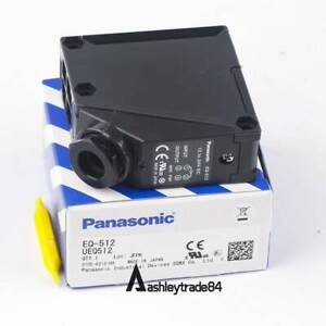 1pcs Panasonic Sunx Far Infrared Photoelectric Switch Eq 512 New