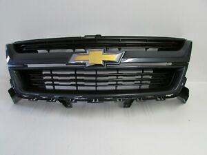 Oem 2015 2016 2017 2018 2019 Chevy Colorado Cyber Gray Front Grille Grill