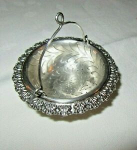 Lovely Sterling Silver Tea Strainer Infuser Xix Th C