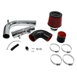 Dc Sports Cai4108 Aluminum Powder Coated Silver Cold Air Intake System