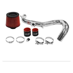 Dc Sports Cai4407 Aluminum Powder Coated Silver Cold Air Intake System