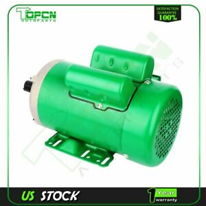 2 Hp Agricultural Electric Motor 145t Frame 1725 Rpm Single Phase 7 8 shaft