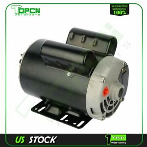 5 Hp Spl Air Compressor Electric Motor 56 Frame 3450 Rpm Single Phase 5 8 shaft