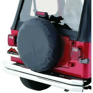 Tc333535 Rt Off Road Spare Tire Cover New For Jeep Cj7 Cj5 Wrangler Willys 55 58