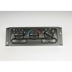 15 72947 Ac Delco A c Control Unit New For Chevy Olds Chevrolet Venture 01 05