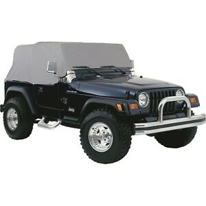 Cc10309 Rt Off Road Car Cover New Gray For Jeep Wrangler Cj7 1976 1986