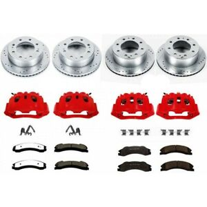 Kc1906a 36 Powerstop Brake Disc And Caliper Kits 4 wheel Set Front
