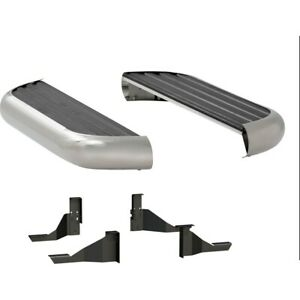 575060 571031 Luverne Running Boards Set Of 2 New Polished For Ram Truck Pair